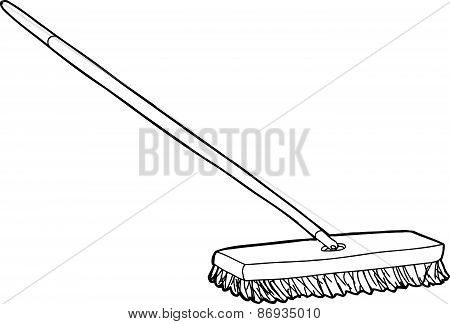 Push Broom Illustration