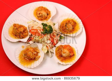 Baked Shellfish
