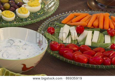 Before Dinner Horderves