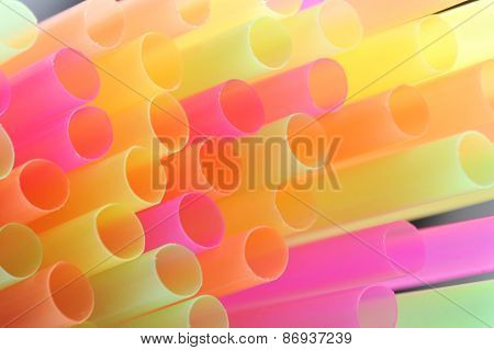 Background Made Of Straws