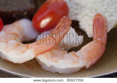 Party Plate Of Finger Foods