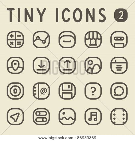 Line Icons Set 2