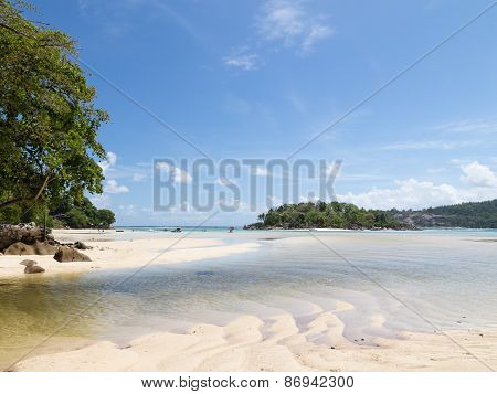 Sand And Water Indian Ocean