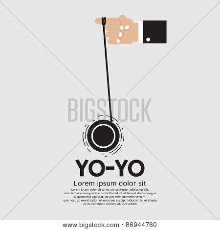 Yo-yo In Hand.
