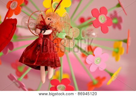 Cute Doll With Red Dress