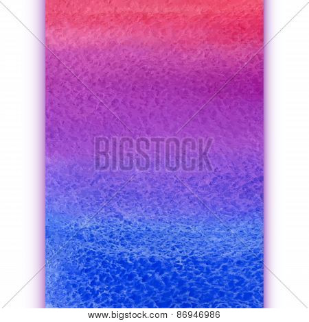 vector vertical watercolor rainbow gradient background