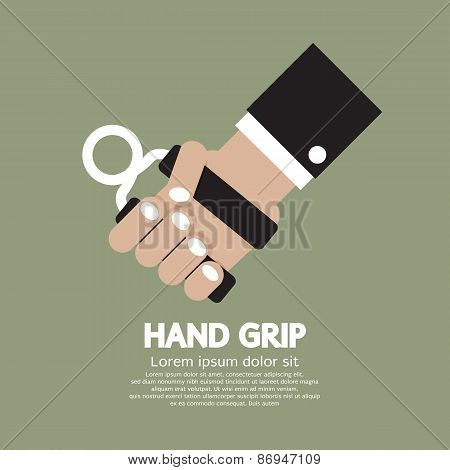 Hand Grip Graphic.