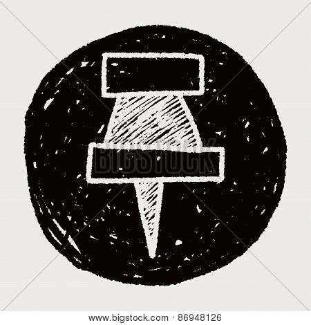 Doodle Pushpin