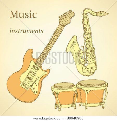 Sketch Musical Instrument