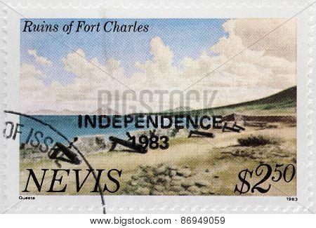 Fort Charles Stamp