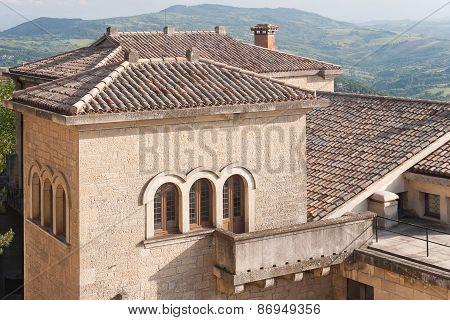 San-Marino Old Town Center Cityscape