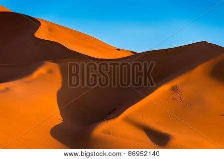 The High Dune Of Erg Chebbi, Morocco