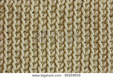 Pattern Of Braided Rope Texture For Background