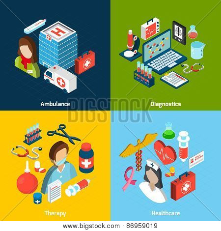 Medical Isometric Set