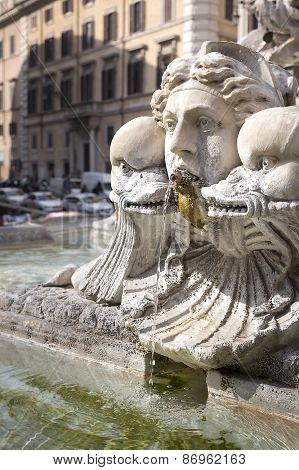 Brunnen Von Giacomo Della Porta