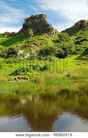 The lovely Fairy Glen, Scotland