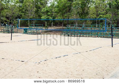 Beach Volleyball Field