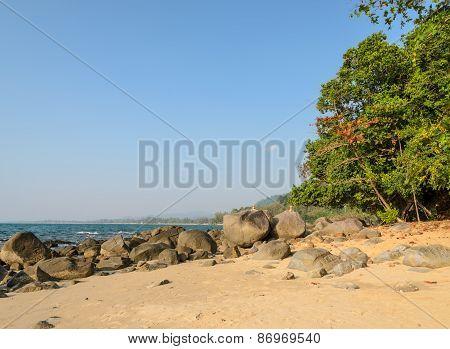 Khao Lak Beach In Thailand