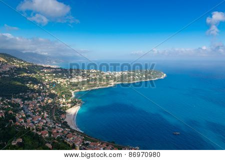 Mediterranean land and seascape
