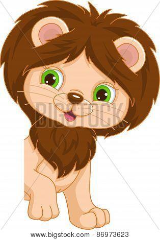 Lion Place Card