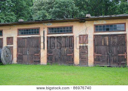 Old Garages.