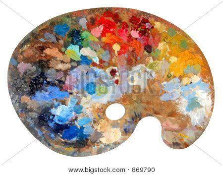 Paleta de artista