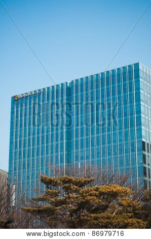 Microsoft Corporate Branch Building In Seoul, Korea.
