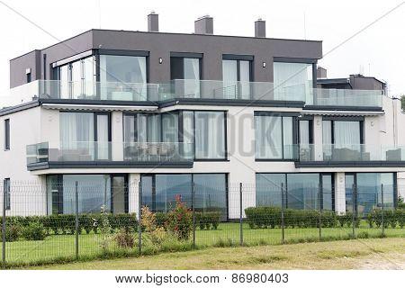 Architectural detail at Balaton Lake, Hungary, Europe