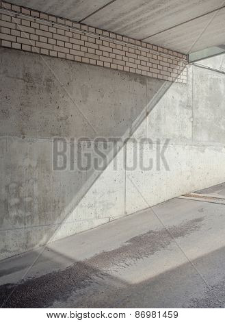 Abstract architectural shapes. Urban background.