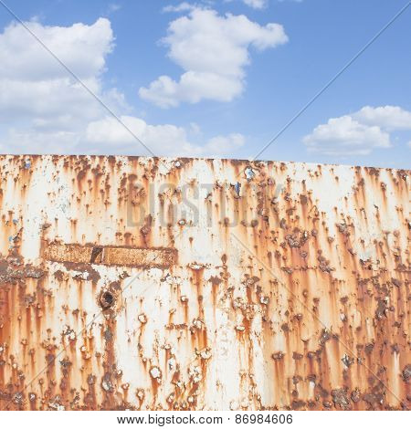 Blue Sky And Rust