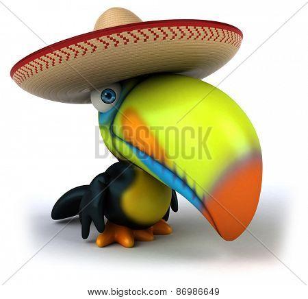 Fun toucan