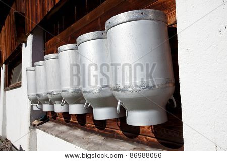 milk containers