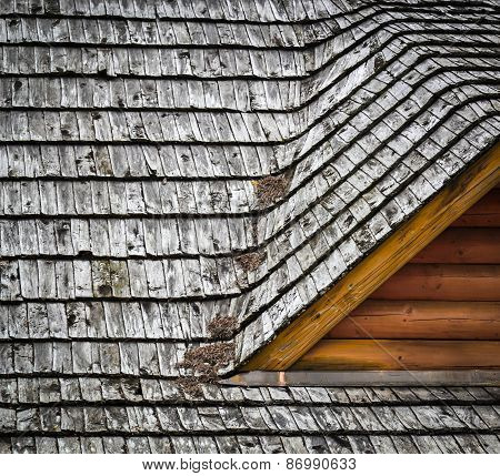 Detail Dormers On The Roof Shingles