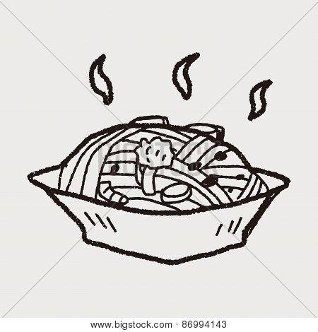 Pasta Doodle