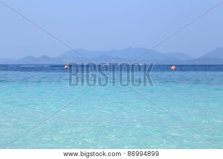 Sea And Sky And Mountain In Krabi