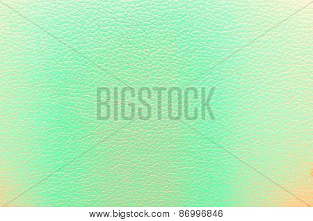 Leather Green Texture For Background