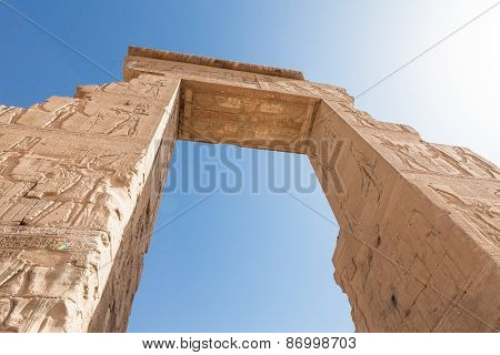 Entrance Of Dendera Temple