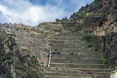 picture of andes  - Ollantaytambo - JPG