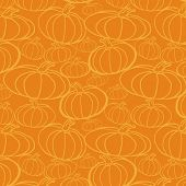 picture of thanksgiving  - Thanksgiving autumn seamless background - JPG