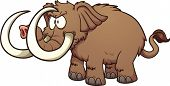 picture of mammoth  - Angry cartoon mammoth - JPG