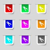 pic of pliers  - pliers icon sign - JPG