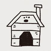 pic of dog-house  - Doodle Dog House - JPG