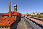 pic of portland oregon  - Union Station train station in Portland Oregon - JPG