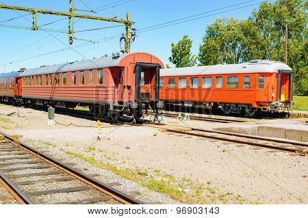 Vintage Train Wagons