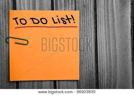 To Do List Word