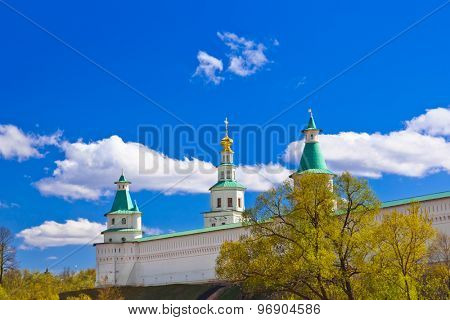 Famous New Jerusalem monastery - Istra Russia