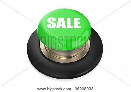 Sale Green Button