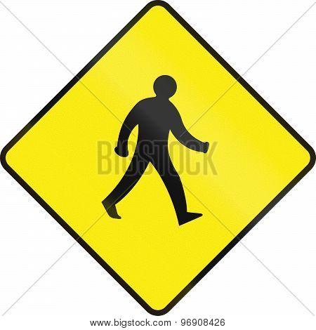 Pedestrian Crossing In Ireland