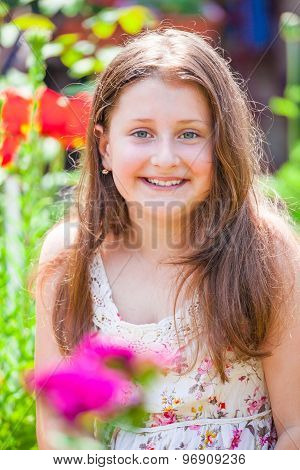 Portrait Of 10 Year Old Girl