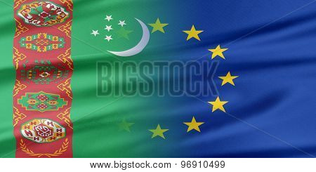 European Union and Turkmenistan.